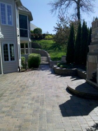 Brick Paver Patio & Driveway Cleaning & Sealing In Geneva, IL 6