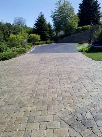 Brick Paver Patio & Driveway Cleaning & Sealing In Geneva, IL 8