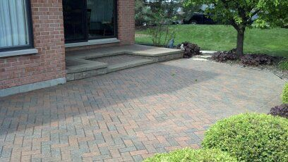 Brick Paver Patio Repairs, Cleaning & Sealing in Barrington IL Unilock-7