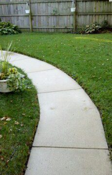 Cement Patio & Sidewalk Power Washing in St. Charles, IL & Surrounding Areas-2