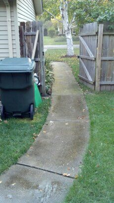 Cement Patio & Sidewalk Power Washing in St. Charles, IL & Surrounding Areas-3
