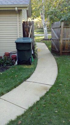 Cement Patio & Sidewalk Power Washing in St. Charles, IL & Surrounding Areas-4
