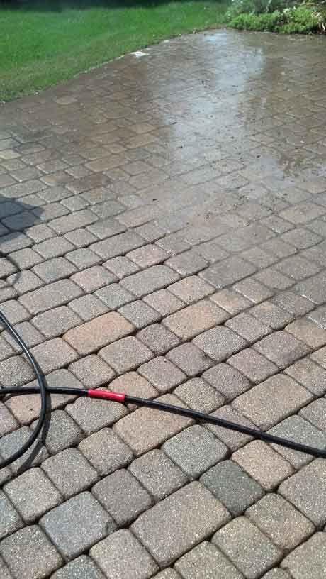 Power Washing Brick Paver Patios in Illinois - IL Stone & Brick ...