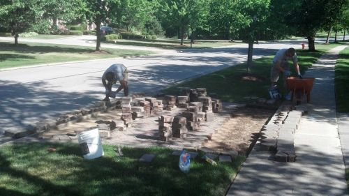 Releveling Brick Paver Driveways and Patios in IL-3