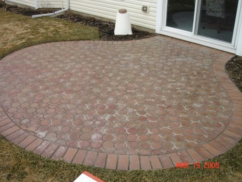 What Happens When Amateurs Seal Brick Pavers-1