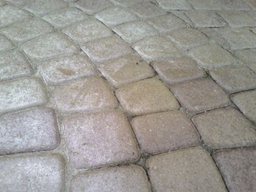 What Happens When Amateurs Seal Brick Pavers-6