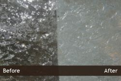 Natural Stone Restoration in Chicago - before and after