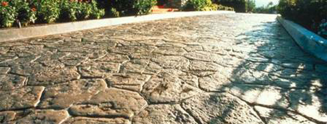 Barrington stamped concrete cleaning contractor for Cleaning colored concrete