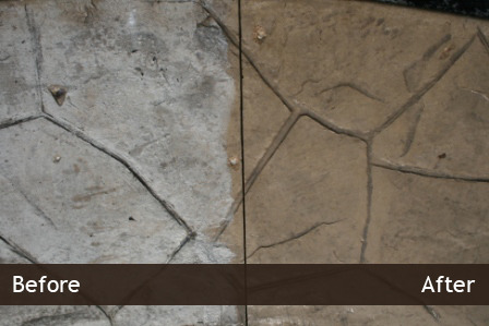Elgin Stamped Concrete Sealing Amp Stripping Services Il