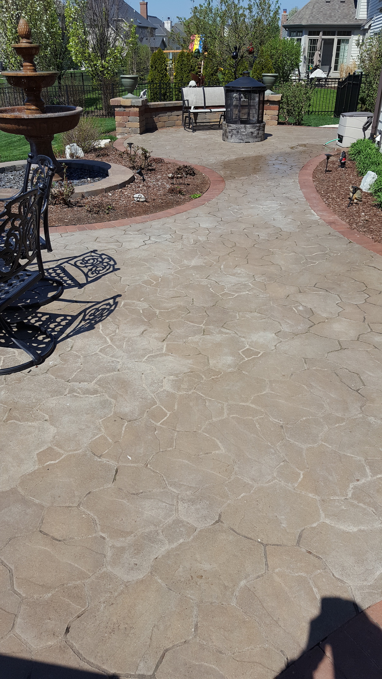 What Does Failing Brick Paver Sealer Look Like Il Stone