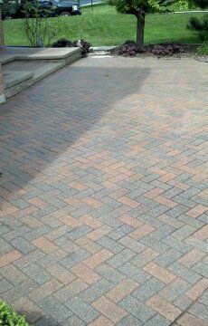 Brick Paver Patio Repairs, Cleaning & Sealing in Barrington IL Unilock-5