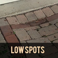 paver protector low spots