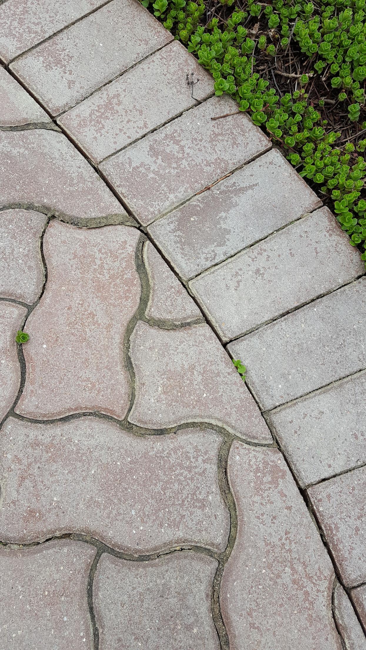 White Hazy Failing Brick Paver Sealer